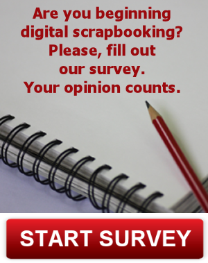 survey for beginner digital scrapbooker