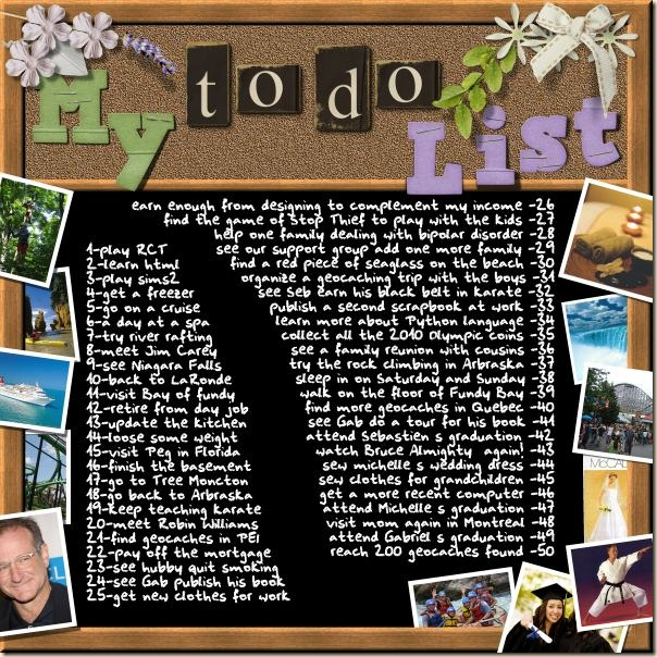 Photos to embellish a layout