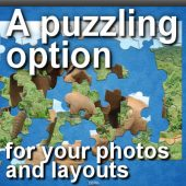 A puzzling option for your photos and layouts