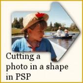 Cut a photo based on a preset shape