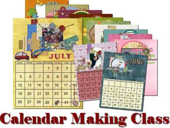 Calendar Making Class