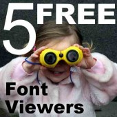 5 Free Font Viewers
