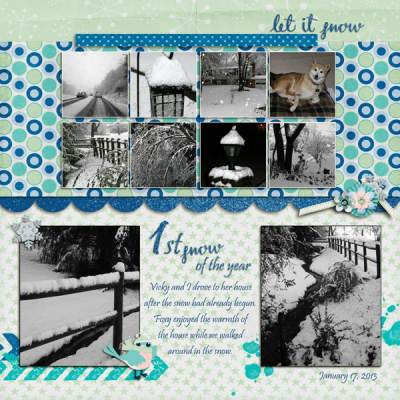 Let it snow by Elynnia