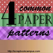 4 Common paper patterns