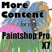 More content for your Paintshop Pro