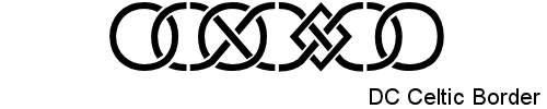 Dingbats-DC CelticBorder