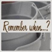 Remember when…? – Washing