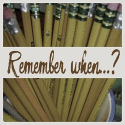 Remember when…?  –  Blister