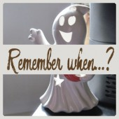 Remember when…?  –  Early Halloween
