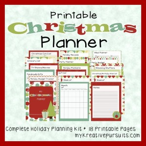 Christmas Planner Square Image