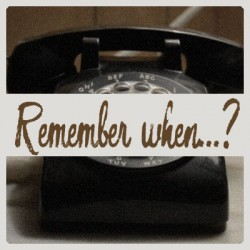 Remember when…?  – Busy