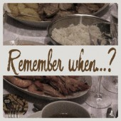 Remember when…?  –  Christmas Dinner
