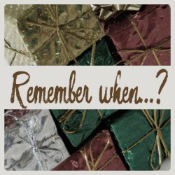 Remember when…?  – Santa money