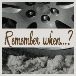 Remember when…?  – Santa is stuck