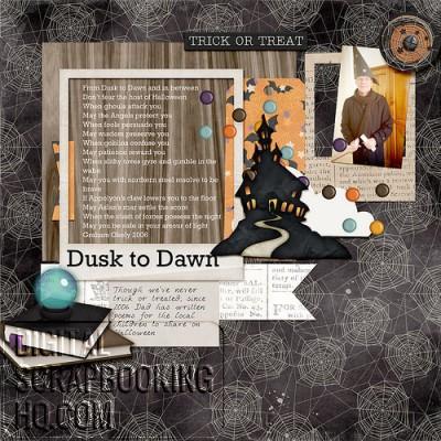 halloween-scrapbook-layout-idea