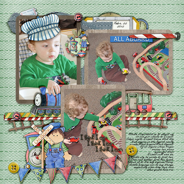 Layout from scrappingramma
