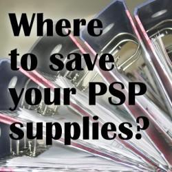 Where to save your Paintshop Pro supplies?