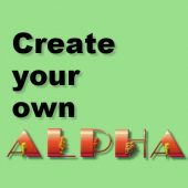 Create your own alpha