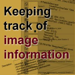 Keeping track of image information