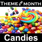 Theme – Candies