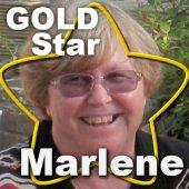 Gold Star  –  Marlene