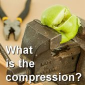What is the compression?