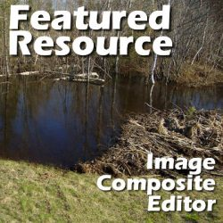Featured resource – Image Composite Editor