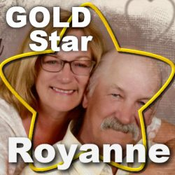 Gold Star  –  Royanne