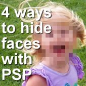 4 Ways to hide a face with Paintshop Pro