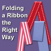 Folding a Ribbon the Right Way
