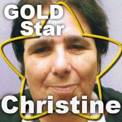 Gold Star  –  Christine