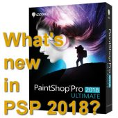 What's new in Paintshop Pro 2018?