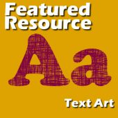 Featured Resources – TextArt