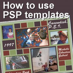 How to use PSP templates