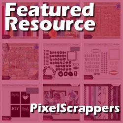 Featured Resource  –  Pixel Scrappers
