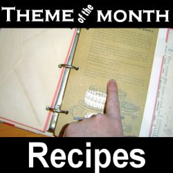 Theme – Recipes
