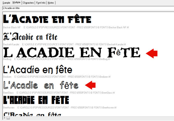 Using outside fonts in Paintshop Pro   Scrapbook Campus