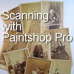 Scanning with your Paintshop Pro