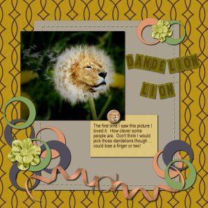 dandelion-lion