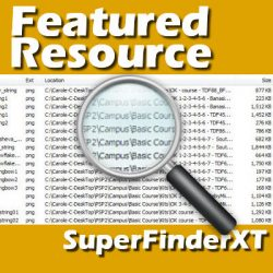 Featured Resource  –  Super Finder XT