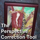 The Perspective Correction Tool