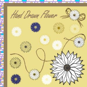 drawn-flower-page