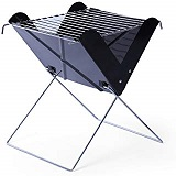 x-shape-iron-bbq-charcoal-grill-outdoor-camping-2