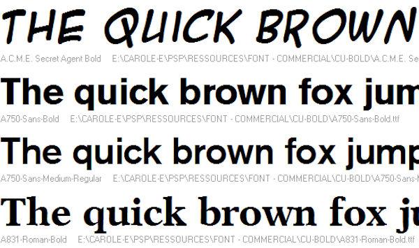 Sort your fonts | Scrapbook Campus