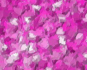 brush-strokes-using-glitter-as-base