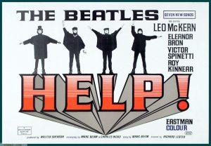actual-beatles-movie-help-1965-theater-lobby-placard