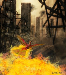 phoenixrisingfromflames