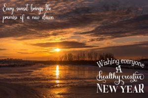 new-year-sunset