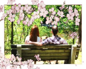 jackie-and-corey-engageent-with-cherry-blossom-frame2_600