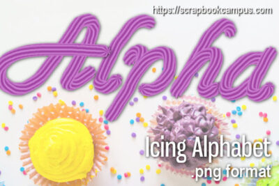 Icing alpha in PNG format